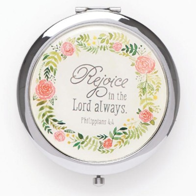Rejoice In the Lord Compact Mirror  -