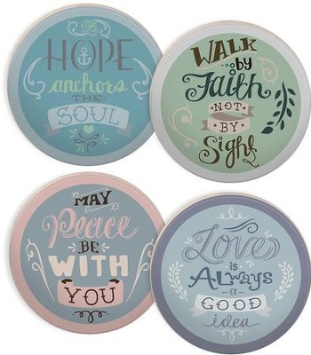 Rachel Anne Round Coaster Set  -