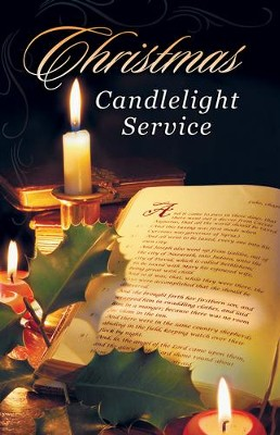 Christmas Candlelight Service Bulletins, 100  -