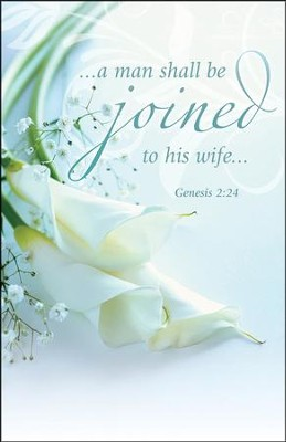 Joined to His Wife (Genesis 2:24) Bulletins, 100  -