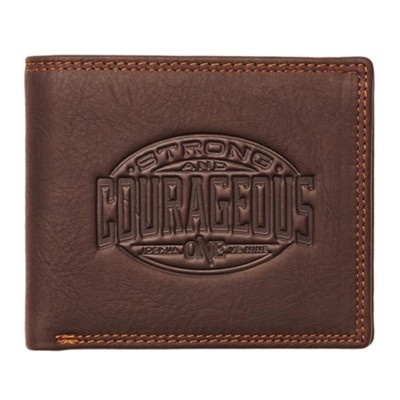 Strong and Courageous Wallet  -
