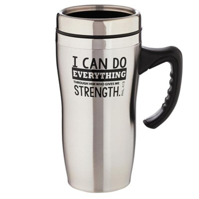 I Can Do Everything, Stainless Steel Travel Mug  -