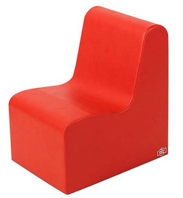 Med. Tot Contour Chair - Red  -