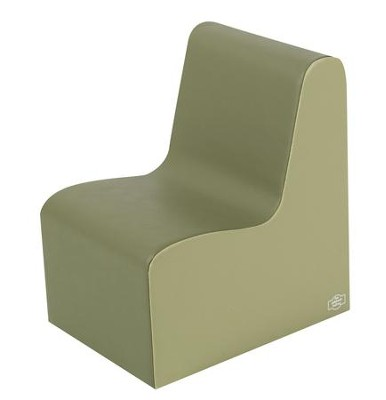 Med. Tot Contour Chair - Sage/Fern  -