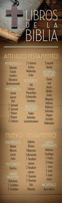 Libros de la Biblia Marcadores (Books of the Bible Bookmarks) 25  -