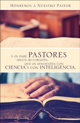 Honremos a nuestro pastor Boletines (Honor Our Pastor Bulletins) 100  -