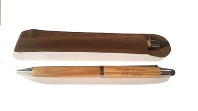 Olive Wood Pen  -     By: Holy Land