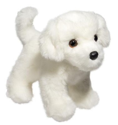 Bailey Bichon, Plush Dog  -