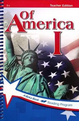 Abeka Of America 1 Teacher Edition   -