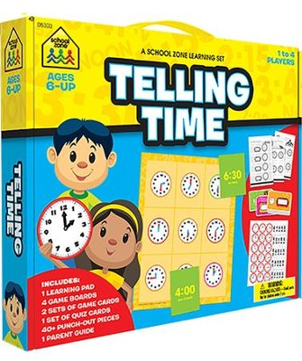 Telling Time Learning Kit  -