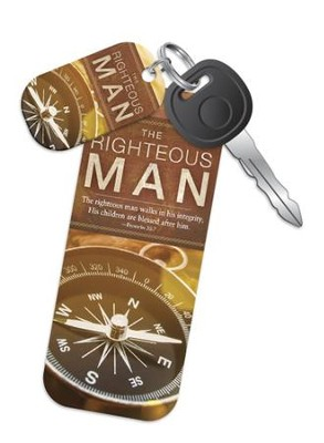 The Righteous Man Truth Tag (Proverbs 20:7, NKJV)   -
