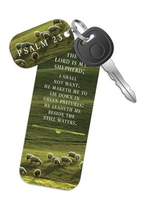 The Lord Is My Shepherd Truth Tag (Psalm 23, KJV)  -