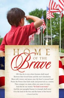 Home of the Brave Patriotic Bulletins, 100  -