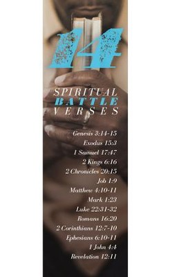 14 Spiritual Battle Verses Bookmarks, 25  -