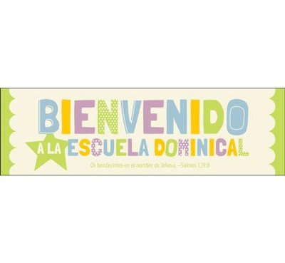 Bienvenido a la Escuela Dominical Marcadores (Welcome to Sunday School Bookmarks), 25  -