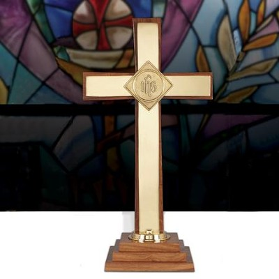 Oxford 24 Altar Cross   -