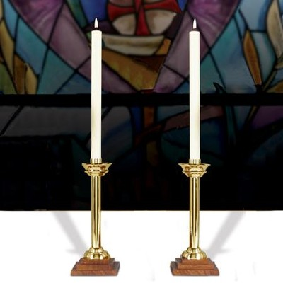 Oxford 10-Inche Candlesticks, Set of 2   -
