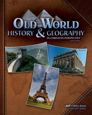 Abeka Old World History & Geography in Christian Perspective  -