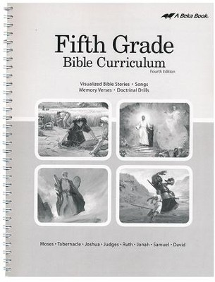 Abeka Grade 5 Bible Curriculum (Lesson Plans)   -