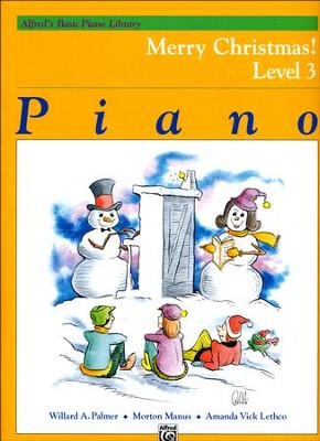 Alfred's Basic Piano Library: Merry Christmas! Book 3  -     By: Willard A. Palmer, Morton Manus, Amanda Vick Lethco