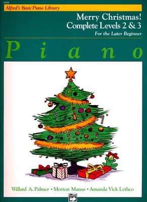 Alfred's Basic Piano Library: Merry Christmas! Complete Book 2 & 3  -     By: Willard A. Palmer, Morton Manus, Amanda Vick Lethco