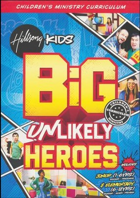 Unlikely Heroes BiG Children's Ministry Curriculum, Season 2  -