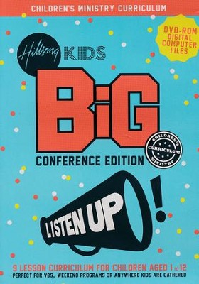 Listen Up BiG Children's Ministry Curriculum  -