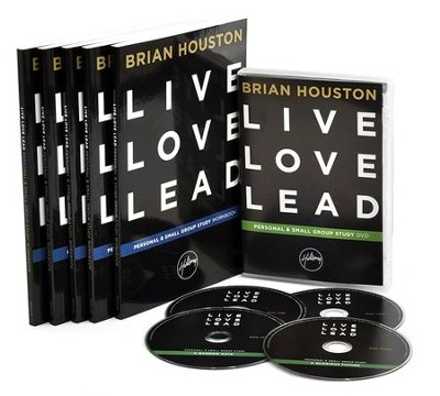 Live, Love, Lead DVD Personal & Small Group Study Kit  -     By: Brian Houston