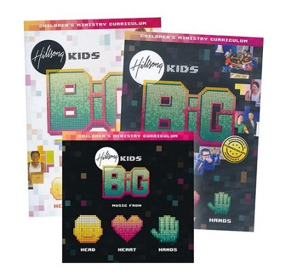 Hillsong Kids BIG Heart, Head, Hands Children's Ministry Curriculum, Season 2  -