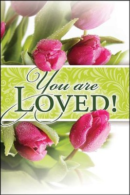 Celebrate Easter: You Are Loved! Share Booklet, Pack of 12  -