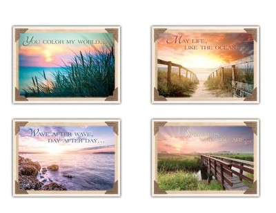 Wishing you were here kjv box of 12 thinking of you cards
