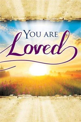 You Are Loved Easter Share Booklets, Pack of 12  -