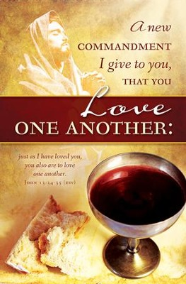 Love One Another (John 13:34-35, ESV) Bulletins, 100  -