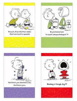 Vintage Charles M. Schulz (KJV) Box of 12 All Occasion Cards  -
