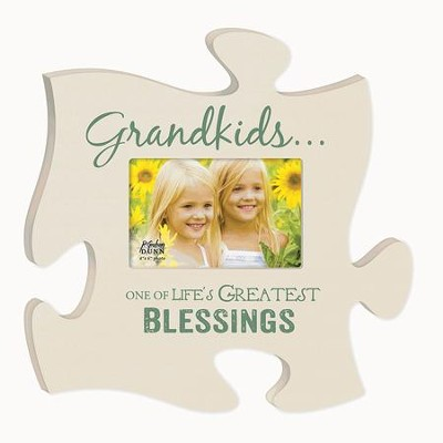 Grandkids, Puzzle Photo Frame  -