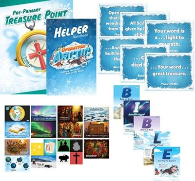 Operation Arctic VBS: Pre-Primary Resource Kit   -