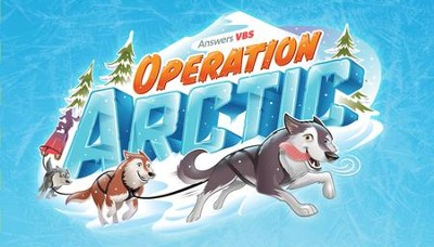 Operation Arctic VBS: Promotional Cards (pack of 100)   -