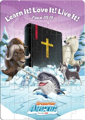 Operation Arctic VBS: Magnet Puzzle   -