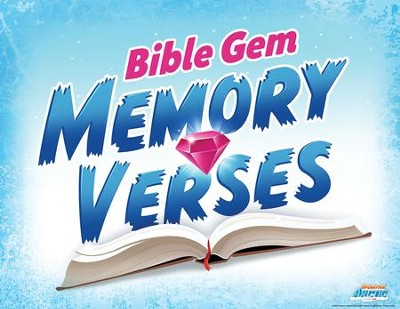 Operation Arctic VBS: Memory Verse Rotation Sign   -