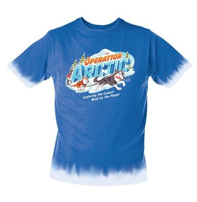Operation Arctic VBS: Student T-Shirt, Adult Medium   -