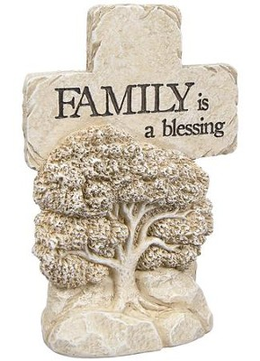 Family Is A Blessing, Pedestal Cross  -