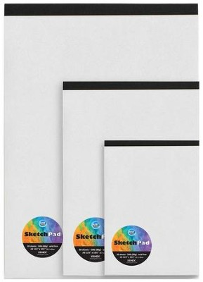 A3 White Sketch Pad (Large)  -