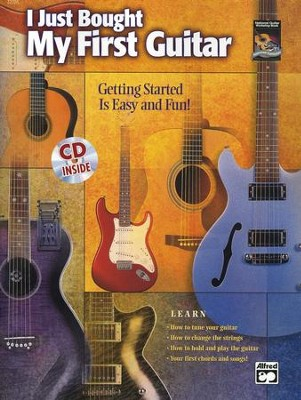 I Just Bought My First Guitar Book & Audio CD   -