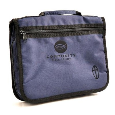 Community Bible Study, Bible Cover, Large, Blue   -