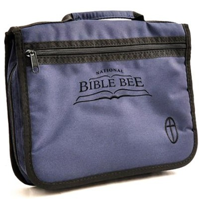 National Bible Bee Bible Cover - Blue   -