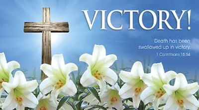 Victory! Cross and Lilies Offering Envelopes, 100  -