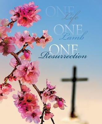 One Life One Lamb One Resurrection Large Bulletins, 100  -