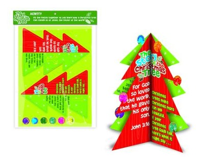 The Story Of the Christmas Tree Activity Kit  -