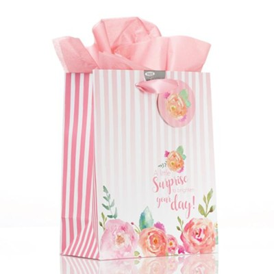 A Little Surprise To Brighten Your Day, Gift Bag, Medium  -