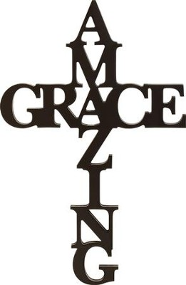 Amazing Grace, Word Wall Art  -